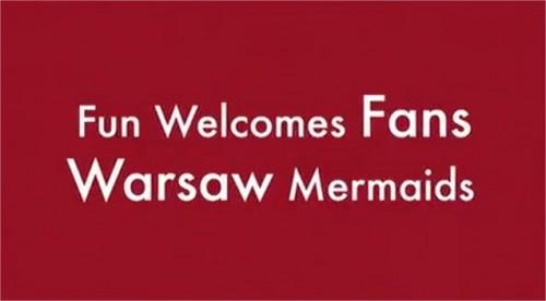 WARSAW MERMAIDS EURO 2012 MOVIE Film warszawskie syrenki podczas mistrzostw piłce nożnej