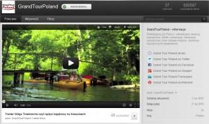 GrandTourPoland Youtube telewizja turystyka ciekawe filmy miejsca atrakcje turystyczne markekting