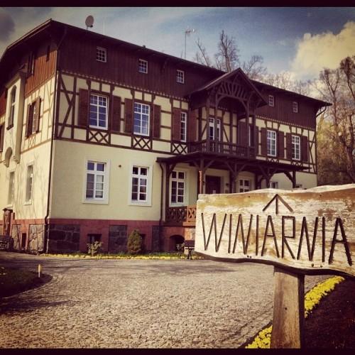 Dworek Jeziorki koło Leszna w Wielkopolsce ma własną winiarnię