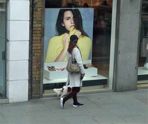 Londyn moda na ulicy