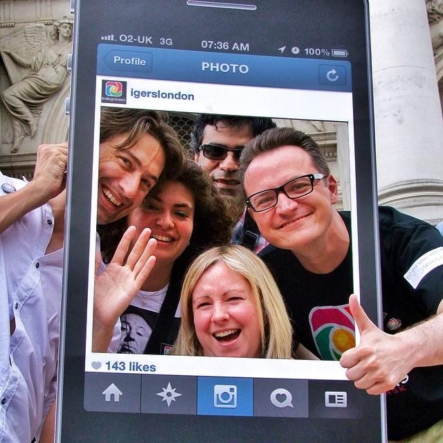 zaangażowana społeczność Instagrama Igers