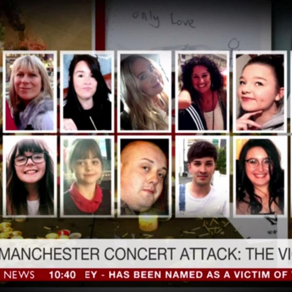 Manchester zamach terrorystyczny