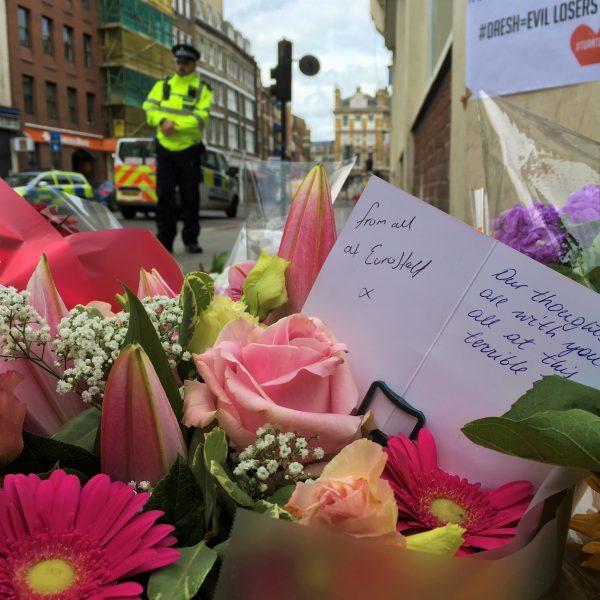 Londyn zamach terrorystyczny London Bridge i Borough Market