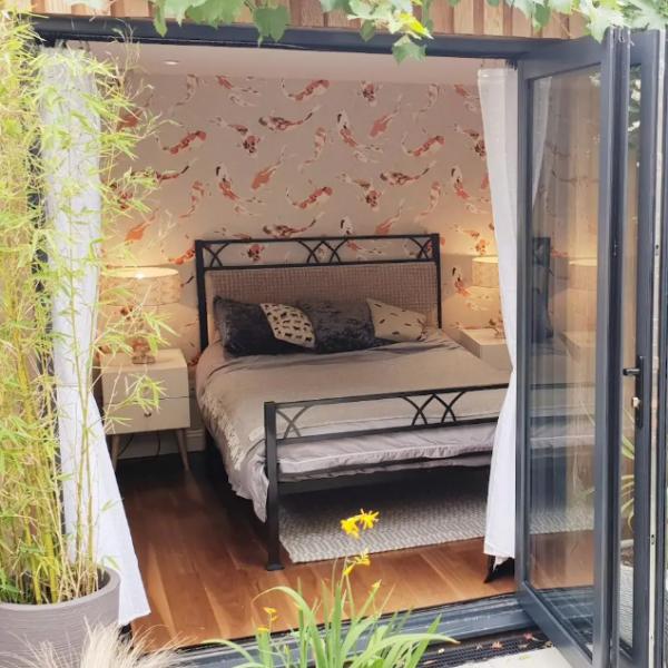 nocleg airbnb pokoj w cambridge w ogrodzie