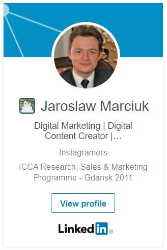Jarosław Marciuk LinkedIn