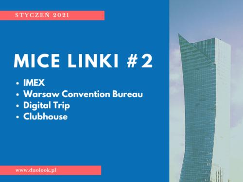 bloger MICE wiadomości IMEX warsaw convention bureau 2021 eventprofs